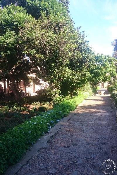 Oudaya-Garten