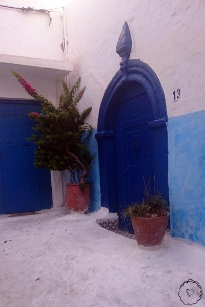 Hauseingang in der Oudaya