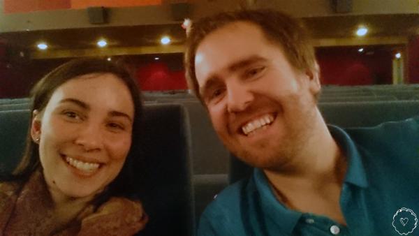 Jana und Wolfi im Kinosaal