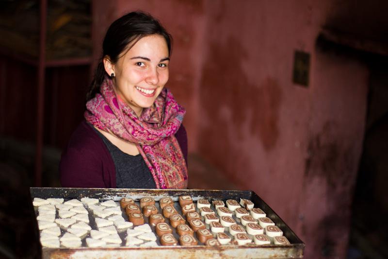 Jana, die Zuckerbäckerin